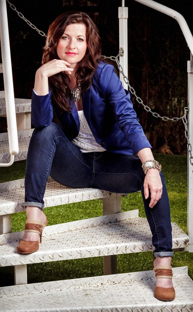 Portrait Treppe Britta