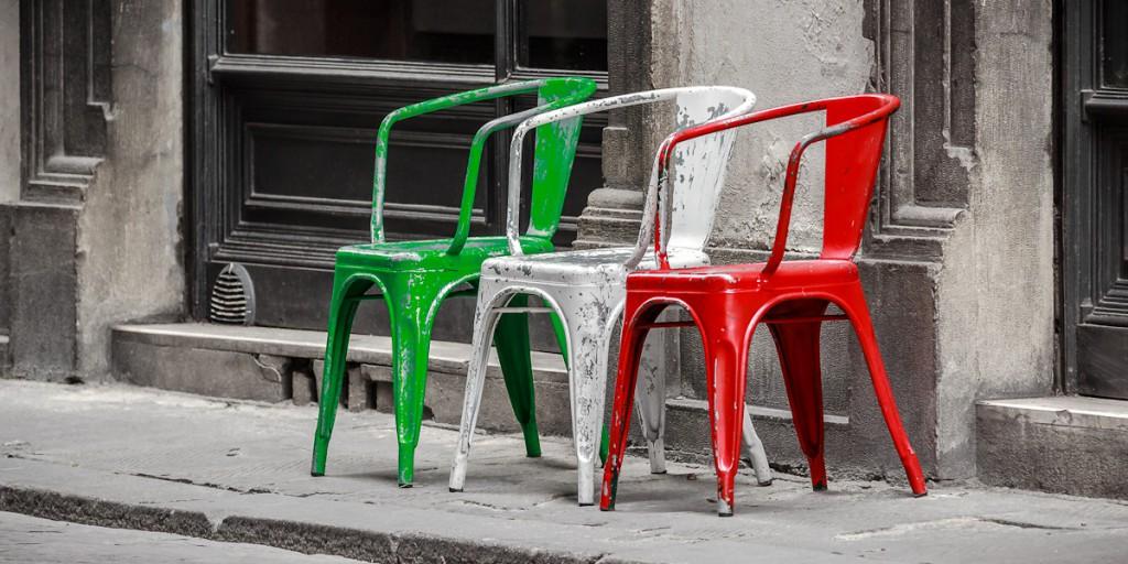 Italienische Stühle Florenz