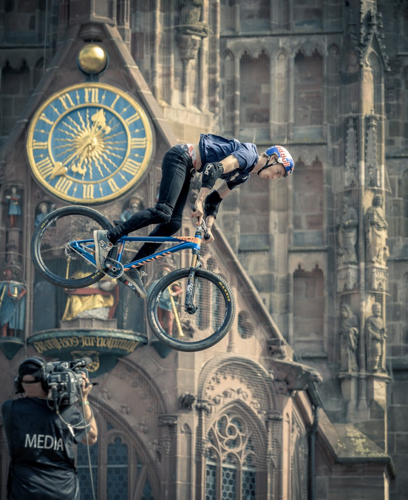 Frauenkirche Red Bull District Ride 2016